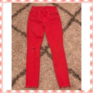 Cute as hell MOTHER DENIM! Sz 24 but fit 23/25